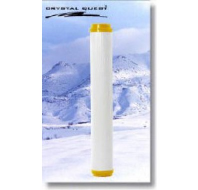 Crystal Quest 2-7/8 in x 20 in Demineralizing Filter Cartridge
