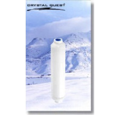 Crystal Quest Reverse Osmosis Inline GAC/KDF Filter Cartridge