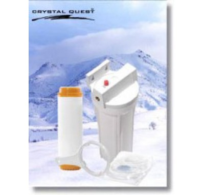 Crystal Quest Refrigerator/In-Line Fluoride Water Filter System