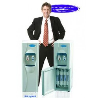 Crystal Quest Hybrid Reverse Osmosis/Ultrafiltration Floor Water Cooler