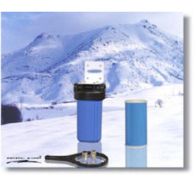 Crystal Quest Whole House Single 10 in x 5.0 in Water Filter System