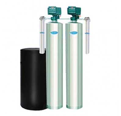 Crystal Quest Whole House Multi/Nitrate 2.0 Water Filter System (Stainless Steel)