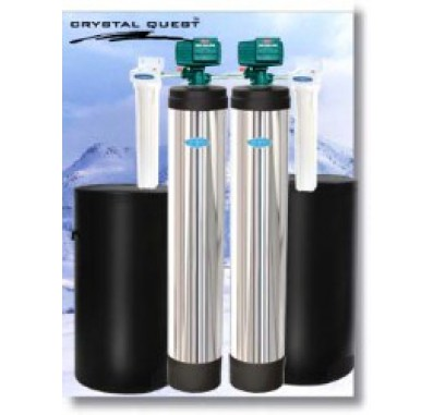Crystal Quest Whole House Softener/Nitrate 1.5 Water Filter System