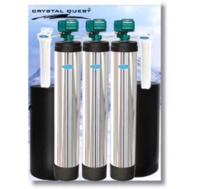 Crystal Quest Whole House Multi/Softener/Nitrate 2.0 Water Filter System
