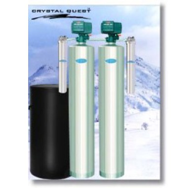 Crystal Quest Whole House Multi/Tannin 2.0 Water Filter System  (Stainless Steel)