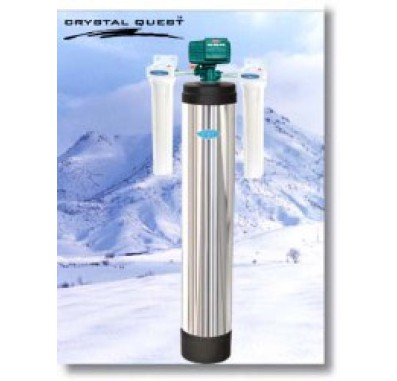Crystal Quest Whole House Manganese,Iron,Hydrogen Sulfide 1.5 Water Filter System