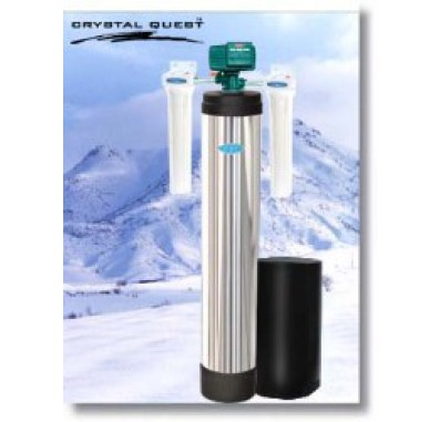 Crystal Quest Whole House Iron, Hydrogen Sulfide 1.5 Water Filter System