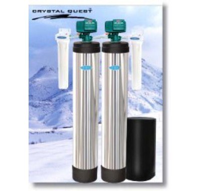 Crystal Quest Whole House Multi/Iron, Hydrogen Sulfide 2.0 Water Filter System