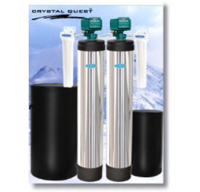 Crystal Quest Whole House Softener/Iron, Hydrogen Sulfide 2.0 Water Filter System