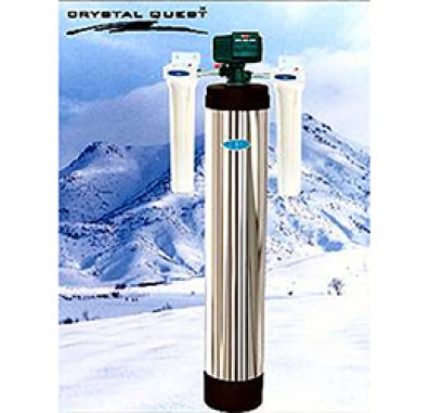 Crystal Quest Whole House Iron, Manganese 1.5 Water Filter System