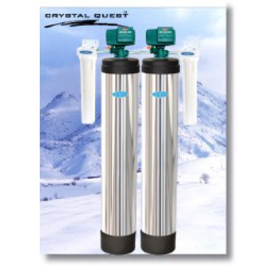 Crystal Quest Whole House Multi/Iron, Manganese 1.5 Water Filter System