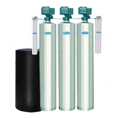 Crystal Quest Whole House Multi/Softener/Sediment 2.0 Water Filter System (Stainless Steel)
