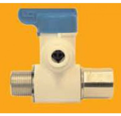3/8 Tube x 3/8 Male x 3/8 Female Angle Stop Feed Adapter