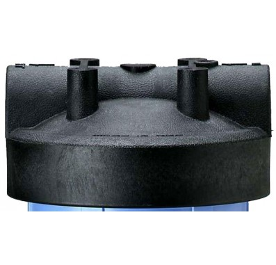 154077 - 1 Inch Black Cap w/o Pressure Release for Big Blue Housings