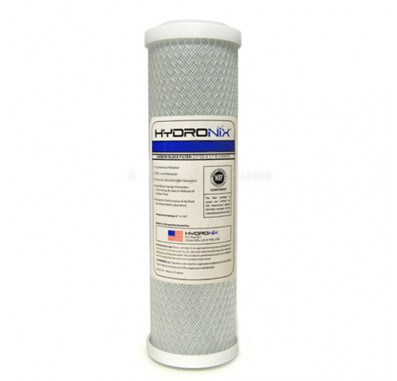 Hydronix SMCB-2510 Replacement Carbon Water Filter  10-inch x 2.5-inch (0.5 Micron)