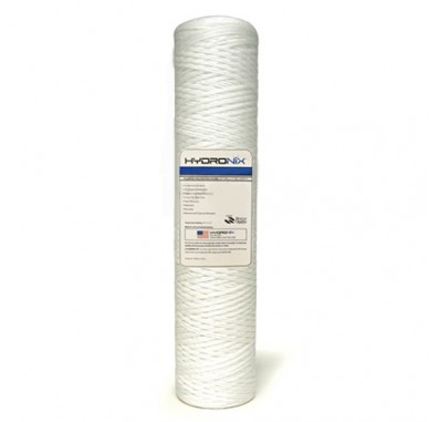 Hydronix SWC-45-2020 String Wound Sediment Water Filter (20 micron)