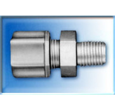 FCMC1066 - 3/8-Inch Tube x 3/8-Inch NPT Male Compression Connector