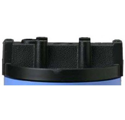 Pentek 154049 1/4-Inch Black Cap for #10 Slim Line & #5 Blue Housings