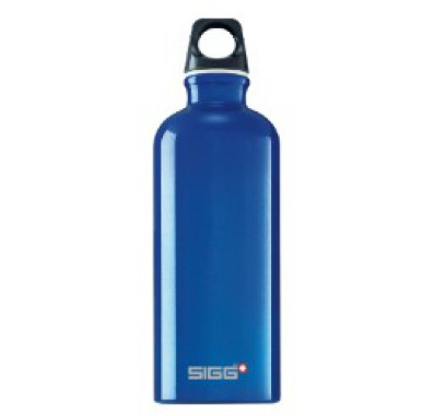 SIGG Dark Blue Traveler 0.6L Bottle