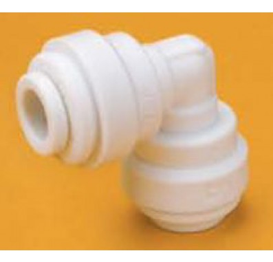FQUE5086 - 1/2-Inch Tube x 3/8-Inch Tube Union Elbow Quick Connect Fitting