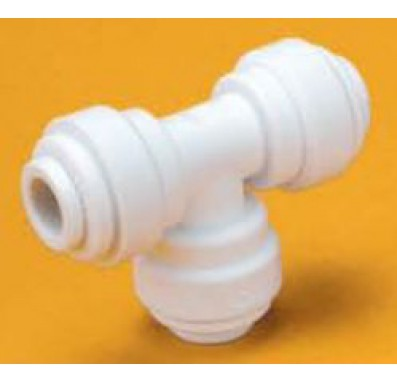 FQUT7044 - 1/4-Inch Tube Union Tee Quick Connect Fitting