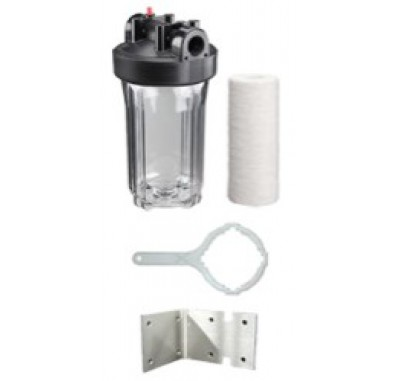 Tier1 KIT-10BC-SED Whole House Filter Kit - Clear