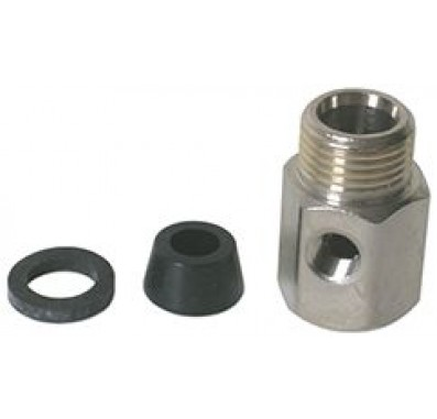 WNV-1 Feed Water Valve Adapter (1/2-Inch F x 1/2-Inch M x 1/8-Inch F)