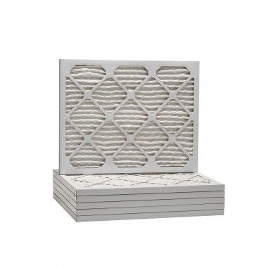 Tier1 20 x 21-1/2 x 1  MERV 13 - 6 Pack Air Filters (P25S-612021H)