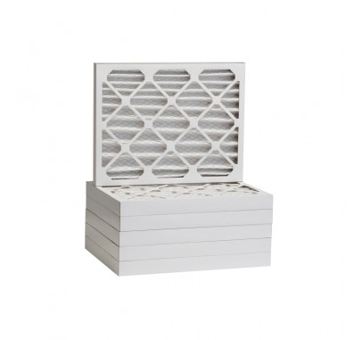 Tier1 12 x 16 x 2  MERV 8 - 6 Pack Air Filters (P85S-621216)