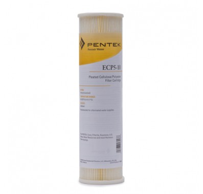 Pentek ECP5-10 Pleated Sediment Water Filters (9-3/4-inch x 2-5/8-inch)