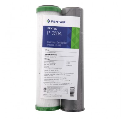 Pentek P-250A Under Sink Water Filter Set