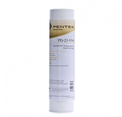 Pentek PD-25-934 Sediment Water Filter (Sold Individually)