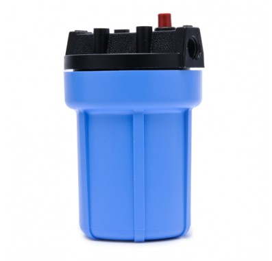 Pentek 158002 3/8-Inch #5 Blue/Black Water Filter Housing w/ Pressure Release