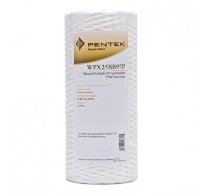 WPX25BB97P Fibrillated Polypropylene Water Filter (Sold Individually)
