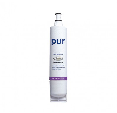 PUR QTSS Whirlpool Quarter Turn Refrigerator Ice and Water Filter (4396510 compatible)