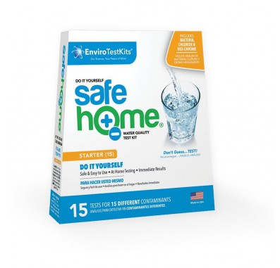 Safe Home 15 Panel Water Test Kit (Front)