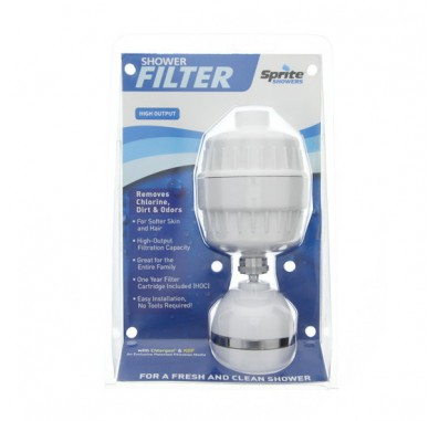 Sprite HO-WH-M High Output Shower Filter System - White
