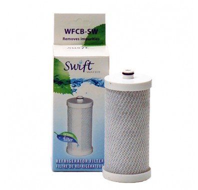 Swift Green SGF-1CB-SW Refrigerator Water Filter (WF1CB Compatible)