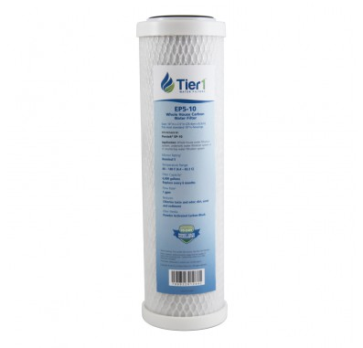10 X 2.5 Carbon Block Replacement Filter by Tier1 (5 micron)