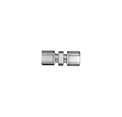 FCUC1542 - 1/4-Inch Tube x 1/8-Inch Tube Union Connector w/ 1/4-Inch & 1/8-Inch Compression Nuts