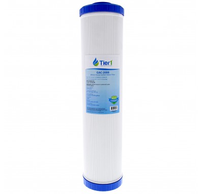 20 X 4.5 Granular Activated Carbon Replacement Filter by Tier1 (20 micron)