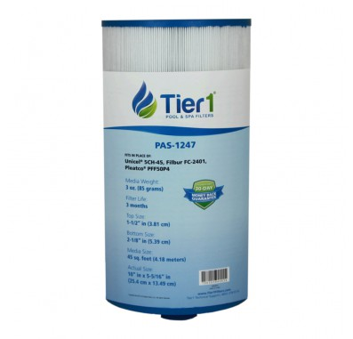 Tier1 Brand Replacement for 5 5/16-inch Diameter by 10-inch Length Filters