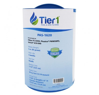 Tier1 brand replacement for 817-0050, 03FIL1400, 25252, 378902 & PWW50