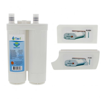 Tier1 Frigidaire WF2CB PureSource2 Refrigerator Water Filter Replacement Comparable