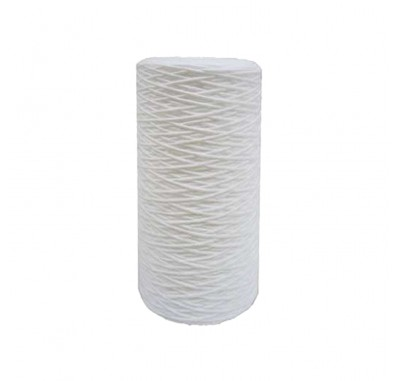 Tier1 10 inch x 4.5 inch String Wound Sediment Water Filter (30 Micron)