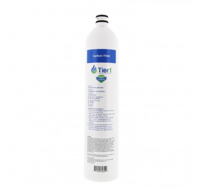 Tier1 US-UF-100-CBRF 4-Stage Ultra-Filtration Hollow Fiber Drinking Water System Replacement Carbon Filter