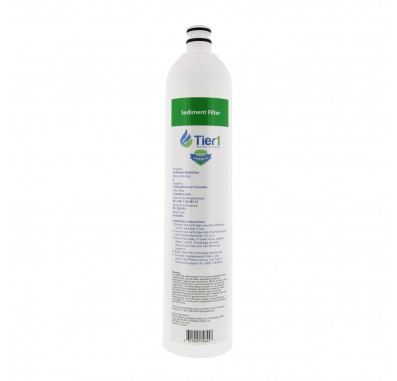 Tier1 US-UF-100-SDRF-5 4-Stage Ultra-Filtration Hollow Fiber Drinking Water System Replacement Sediment Filter (5 Micron)