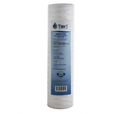Pentek CW-MF Comparable Whole House Sediment Water Filter by Tier1