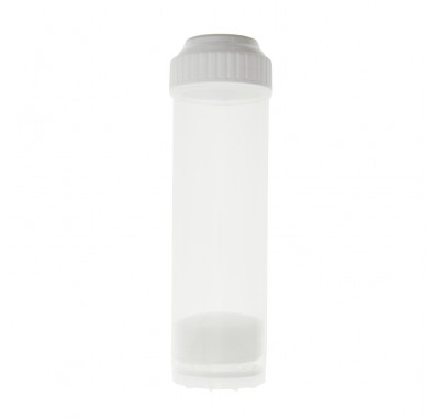 Tier1 2.5-Inch OD X 10-Inch L Clear Empty Filter Cartridges