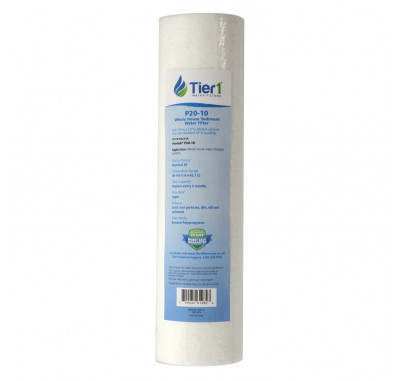 Pentek P25 Comparable Whole House Sediment Water Filter by Tier1